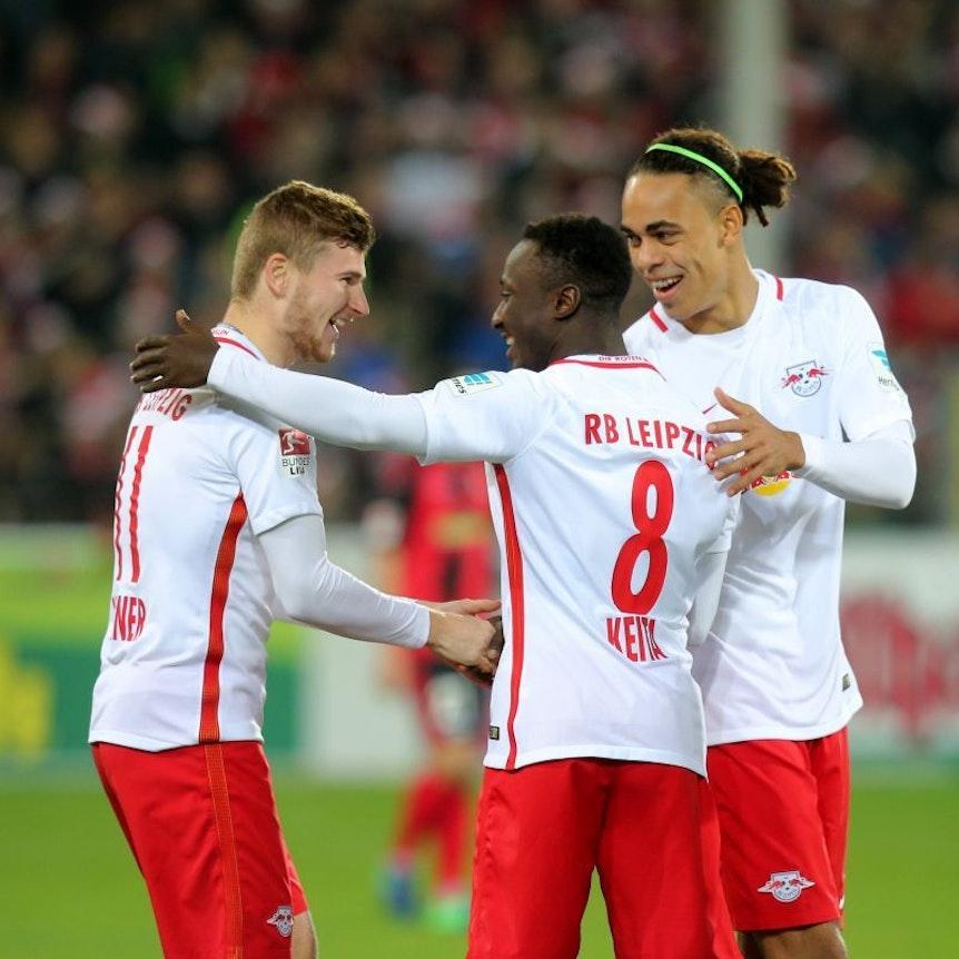 Yussuf Poulsen und Naby Keita sind wieder eine Option, Timo Werner wird gegen SV Darmstadt fehlen.