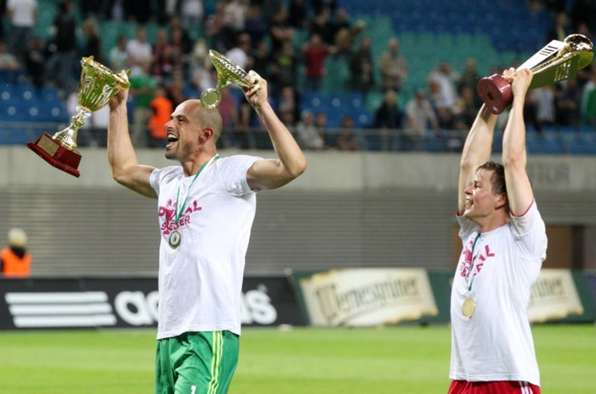 Pokalsieger bei RB Leipzig.