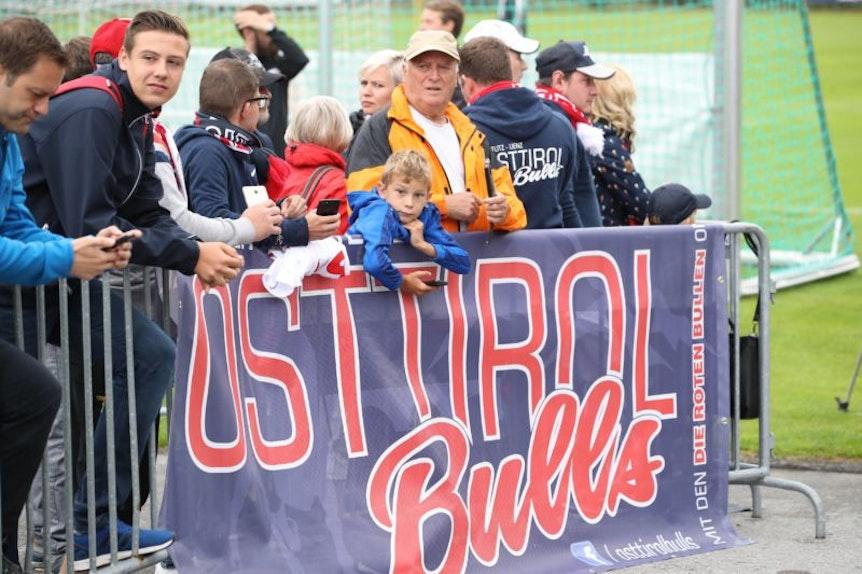 Die Osttirol Bulls sind der erste internationale OFC bei RB Leipzig.