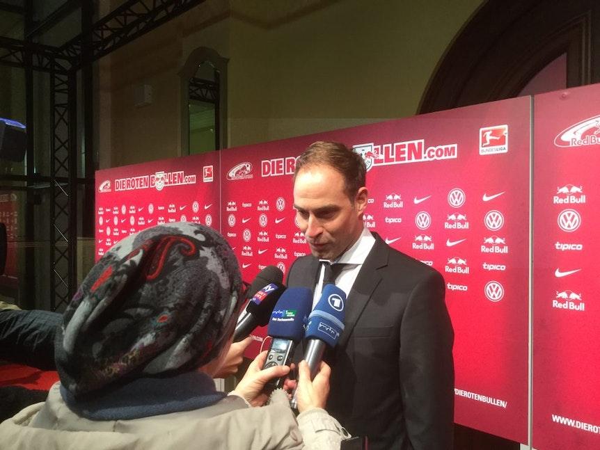 Oliver Mintzlaff, Geschäftsführer bei RB Leipzig.