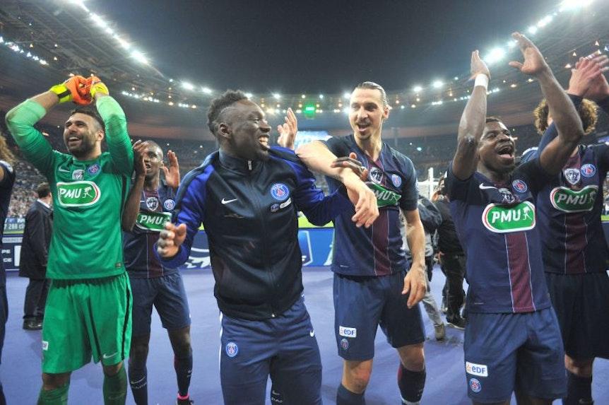 Hatten eine gute Zeit zusammen: Jean-Kevin Augustin und Zlatan Ibrahimovic.