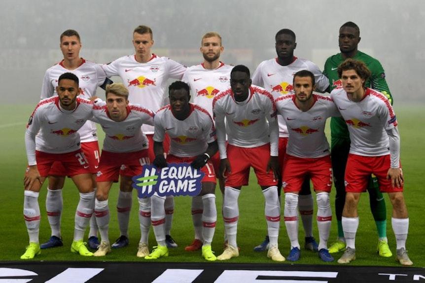Gegen Glasgow standen mit Kevin Kampl, Willi Orban und Lukas Klostermann drei deutsche Spieler in der Startelf.