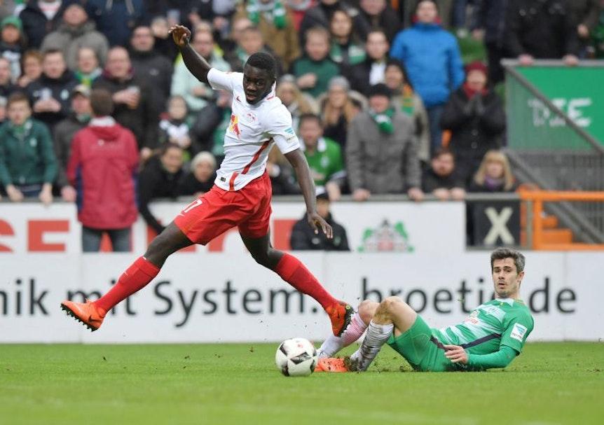 """""""Lichtblick"""" gegen Werder Bremen: Dayot Upamecano"""