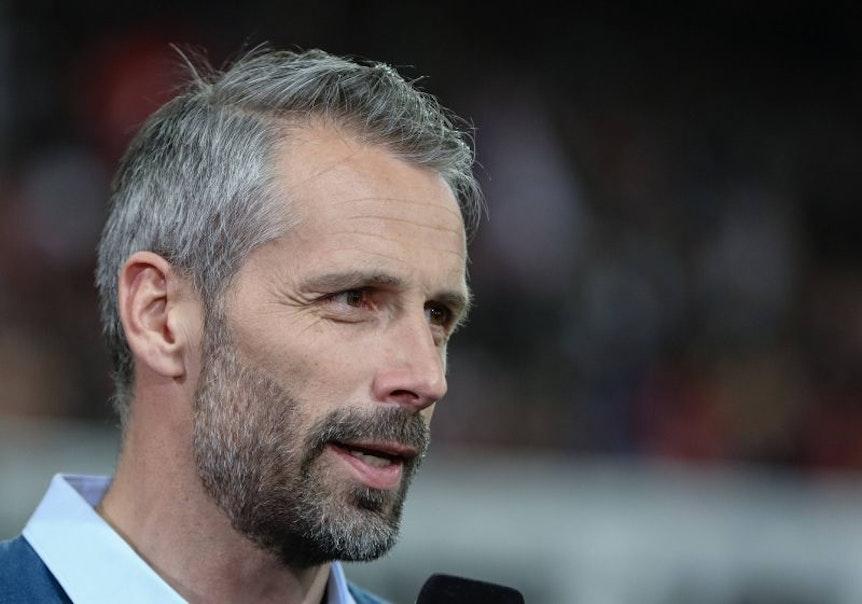 Marco Rose ist genervt von Gerüchten um ihn und eine mögliche Hasenhüttl-Nachfolge bei RB Leipzig.