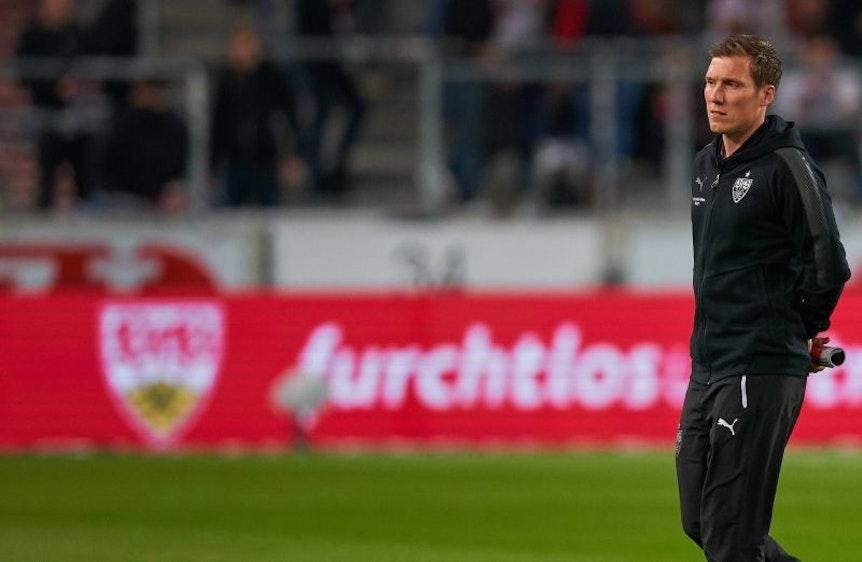 Hannes Wolf hätte auch gerne einen Timo Werner beim VfB Stuttgart.