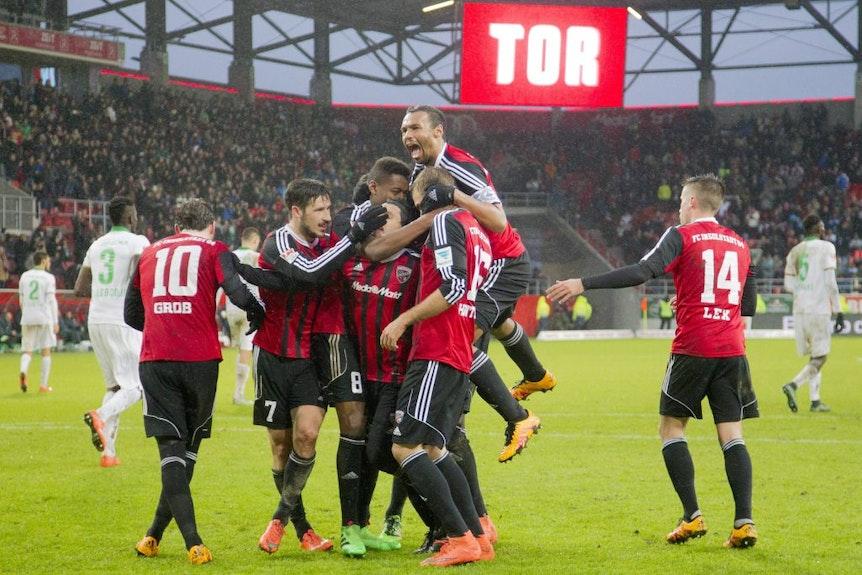 Gegen Werder Bremen jubelt es sich als Bundesliga-Neuling besonders schön: Zuletzt FC Ingolstadt, diesmal RB Leipzig?