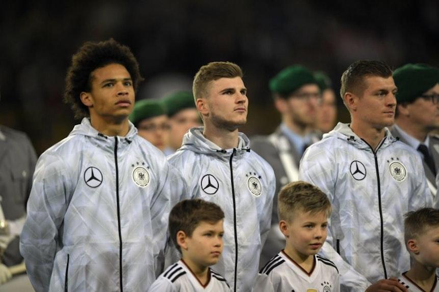 Darf Timo Werner mit der Nationalelf singen?