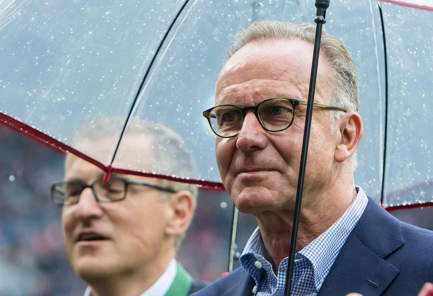 Mia san mia, aber die haben keine Doppel- oder Dreifachbelastung. Karl-Heinz Rummenigge kennt den Spielplan von RB Leipzig.