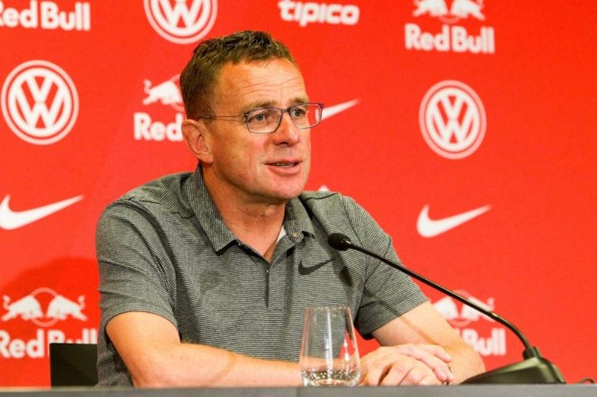 Ralf Rangnick, Sportdirektor bei RB Leipzig, über den Transfermarkt.
