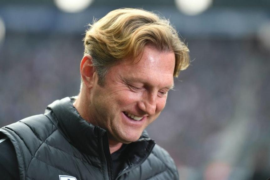 Ralph Hasenhüttl ist auch mit 50 ein zufriedener Mann und Vereinstrainer.