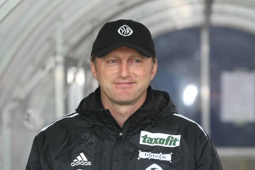 Ralph Hasenhüttl feierte mit dem VfR Aalen seinen ersten großen Erfolg. Aus dieser Zeit bestehen Kontakte nach Dorfmerkingen.