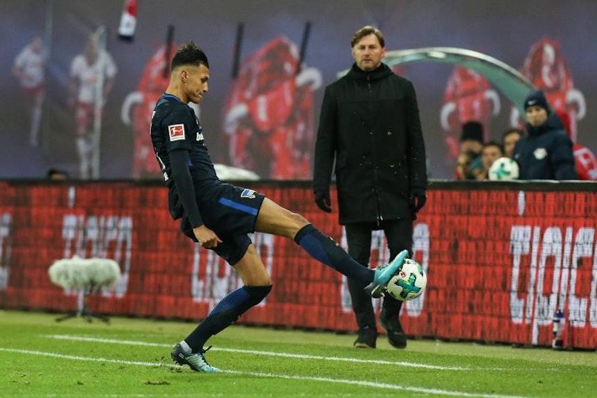 Ralph Hasenhüttl weiß: Davie Selke, ehemals RB Leipzig, ist bei Hertha BSC in Topform.