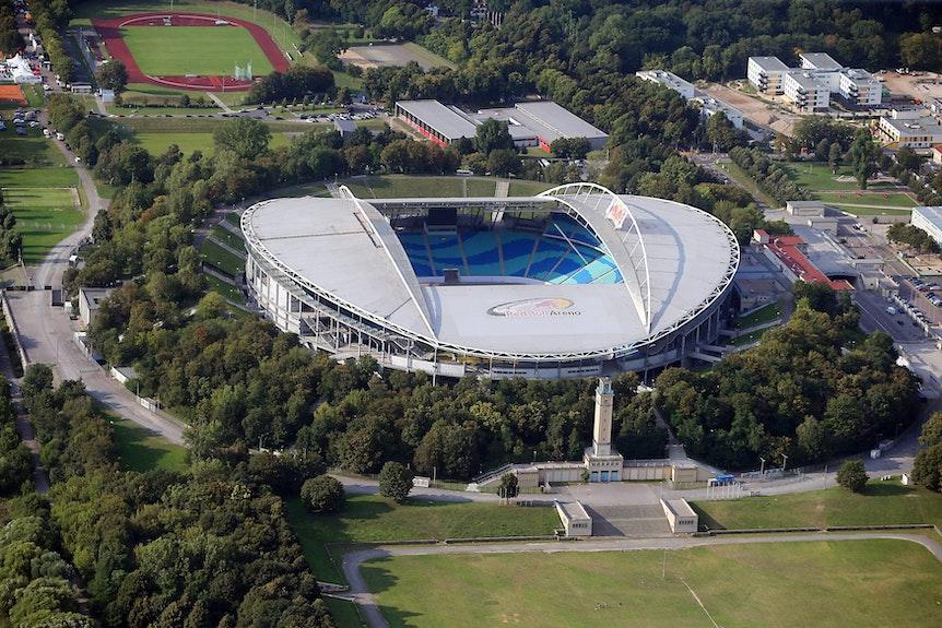 Rund um die Red Bull Arena sollen mehr und auch bewachte Fahrradstellplätze entstehen.