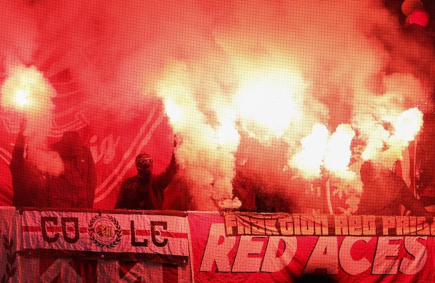 Julian Nagelsmann ist gegen Pyrotechnik bei RB Leipzig.