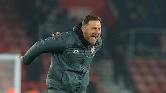 Ralph Hasenhüttl hat beim FC Southampton wieder Erfolg.