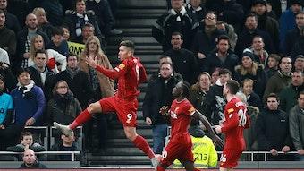 Siegtorschütze gegen die Spurs: Liverpools Roberto Firmino