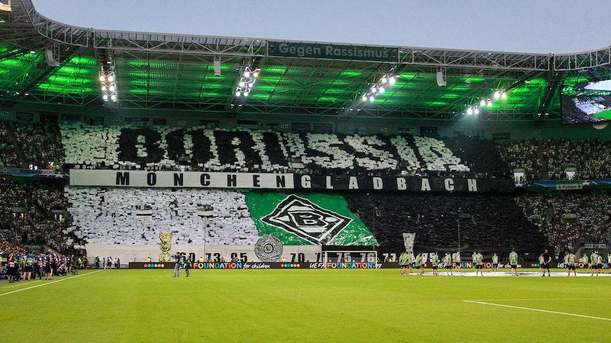 Der Borussia-Park in Mönchengladbach.