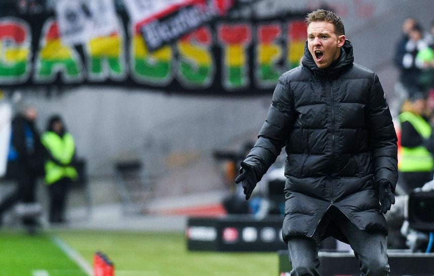 Ist gefrustet: RB-Trainer Julian Nagelsmann