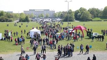 RB Leipzig veranstaltet Aktionen für Menschen mit Behinderung.