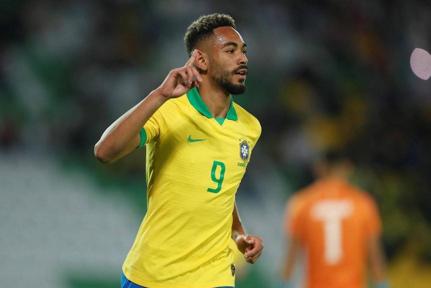 Matheus Cunha holt sich bei der Nationalelf von Brasilien Selbstvertrauen.