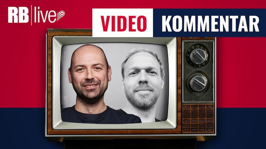 Die RBlive-Reporter Ulli Kroemer (l.) und Martin Henkel.