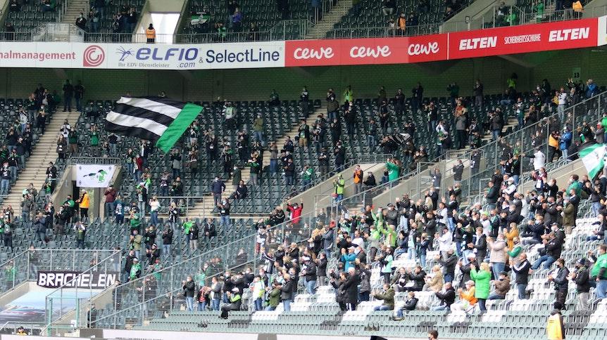 Gegen Union Berlin durften rund 10.000 Zuschauer in den Borussia-Park.