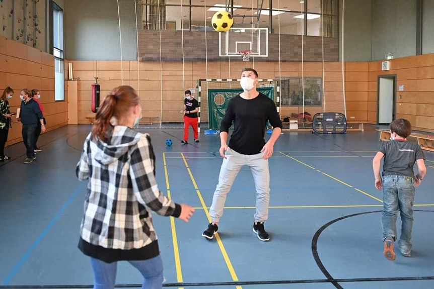Willi Orban besuchte eine Leipziger Kinder- und Jugendklinik.