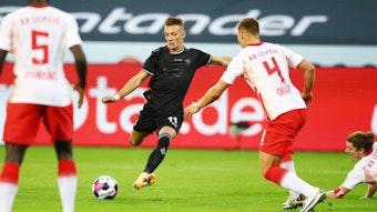 Borussias Hannes Wolf erzielte gegen seinen Ex-Klub Leipzig den Siegtreffer für die Fohlen-Elf.