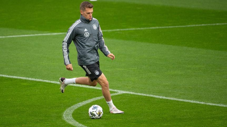 Borussias Matthias Ginter ist aktuell für die deutsche Nationalmannschaft im Einsatz.