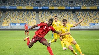 Breel Embolo trifft im Rückspiel der Nations League am Dienstag nicht auf die Schweiz.