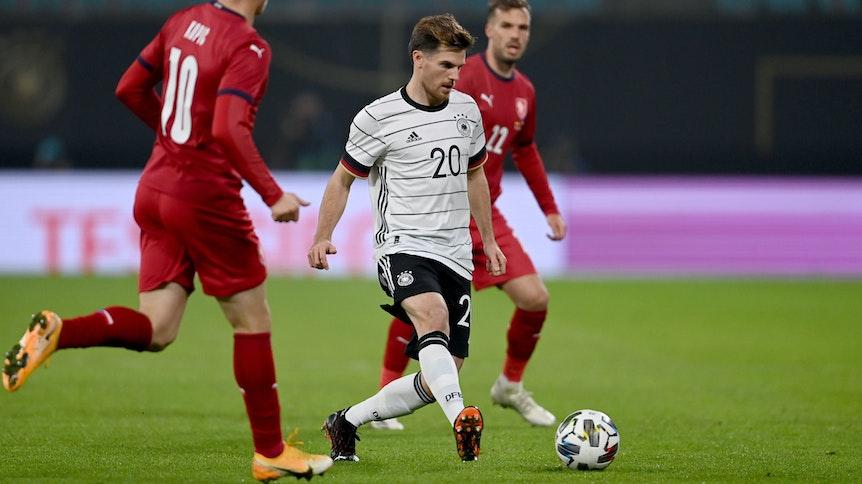 Jonas Hofmann wird nach der Verletzung aus dem Länderspiel gegen Tschechien einige Wochen ausfallen.