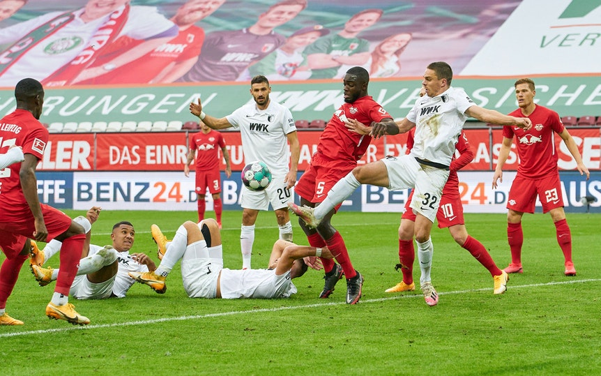 RB Leipzig reist im Pokal zum FC Augsburg