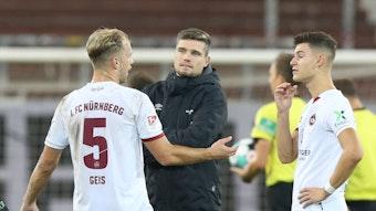 Robert Klauß und Tom Krauß beim 1. FC Nürnberg.