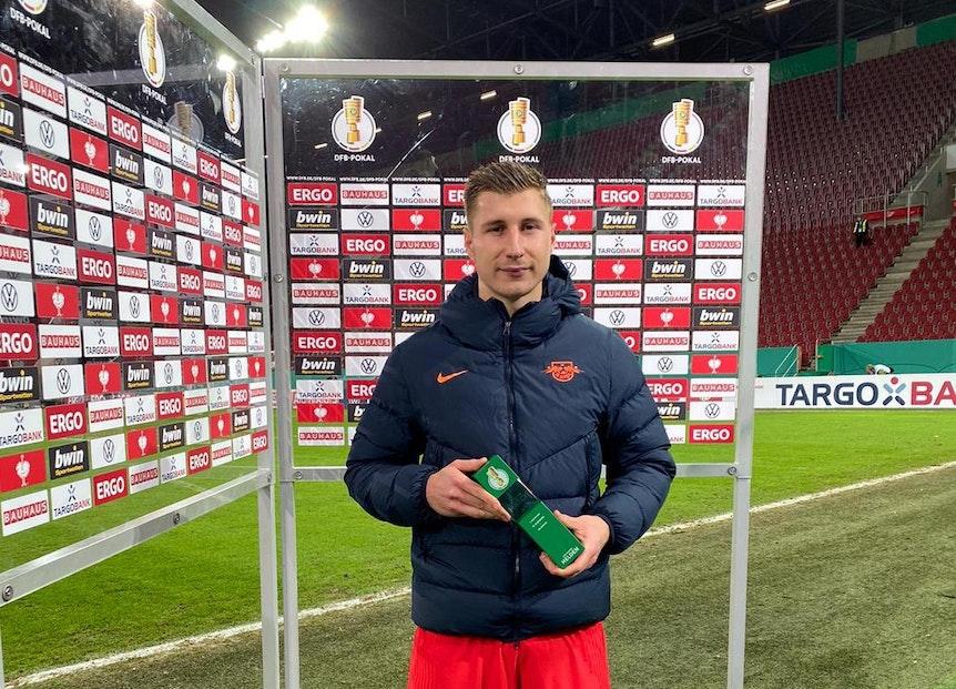 """Torschütze und """"Man of the Match"""": Willi Orban"""