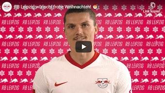 RB Leipzig schickt seine Weihnachtsgrüße dieses Jahr per Video zu seinen Unterstützern.