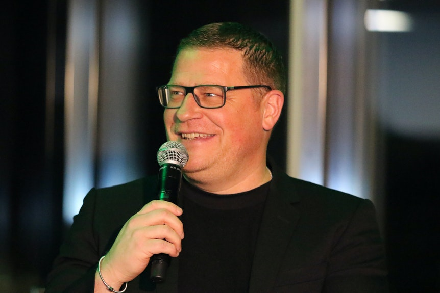 Max Eberl ist aktuell guter Dinge.