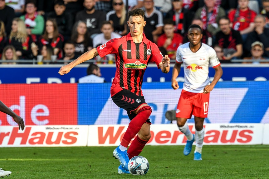 Robin Koch erregte beim SC Freiburg das Interesse von Markus Krösche für RB Leipzig.