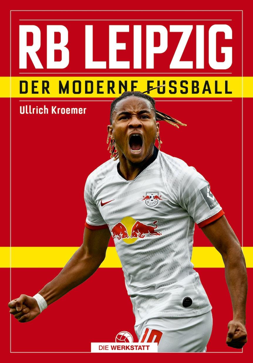 """""""RB Leipzig – Der moderne Fußball"""" ist ein Mix aus Vereinschronik und thematischem Sachbuch über die Rolle von RB Leipzig als Prototyp des modernen Fußballklubs. Zur Wort kommen Trainer, Spieler, Funktionäre ebenso wie Fans und Kritiker."""