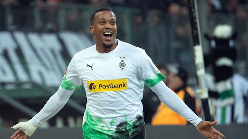 Alassane Plea, Stürmer in Diensten von Borussia Mönchengladbach, zählt zu den Top-Angreifern in der Fußball-Bundesliga.