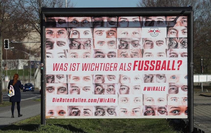 RB Leipzig hilft mit der Spendenkampagne #wiralle.