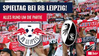 RB Leipzig gastiert beim SC Freiburg. Sehen Sie das Spiel im TV und im Livestream.
