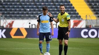 Jonas Hofmann vergab gegen Eintracht Frankfurt kurz vor Schluss eine Großchance.