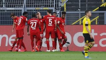 Schoss die Bayern zum Sieg: Joshua Kimmich (Mitte)