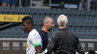 Breel Embolo musste gegen Leverkusen früh ausgewechselt werden.