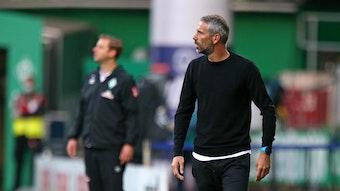 Marco Rose wollte seiner Mannschaft trotz des 0:0 beim Tabellenvorletzten Werder Bremen keinen Vorwurf machen.