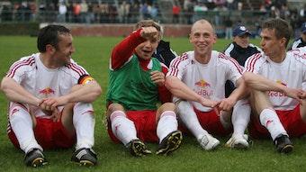 Vier Aufsteiger: Hertzsch, Juraschek, Rost, Rosin