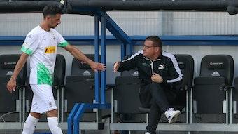 Borussias Manager Max Eberl dürfte genau wissen, was er an Kapitän Lars Stindl hat.