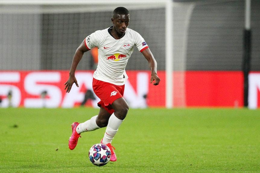 Leipzigs Amadou Haidara soll das Interesse von AS Monaco geweckt haben.