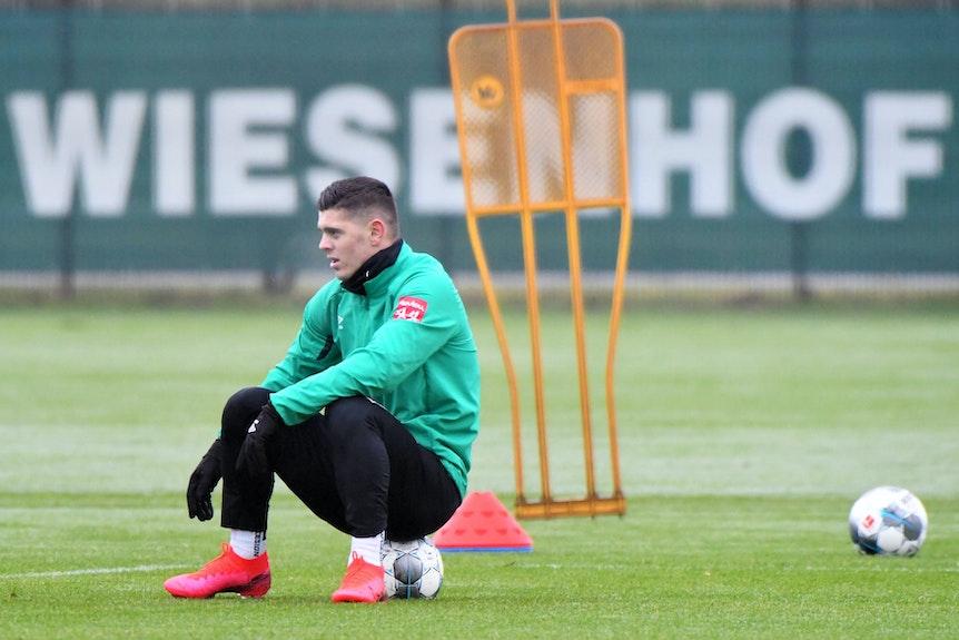 Leipzig muss warten: Milot Rashica wird bei Werder zurück auf dem Trainingsplatz erwartet.