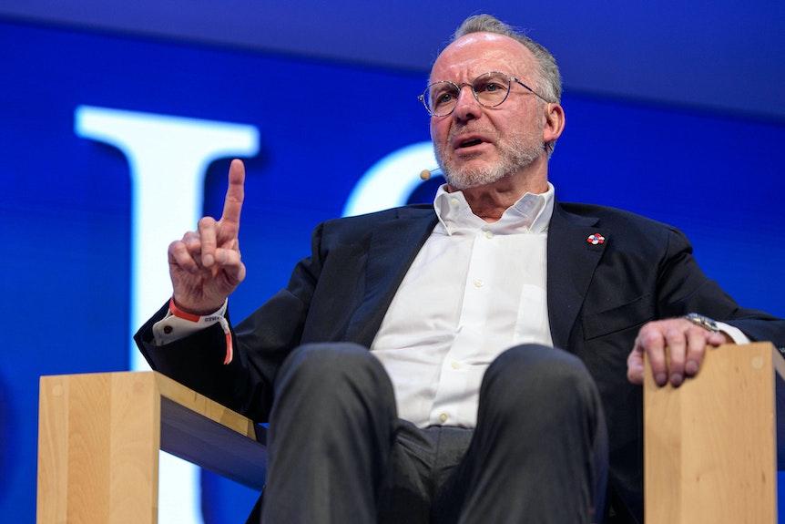 FCB-Vorstandschef Karl-Heinz Rummenigge glaubt an mehr Spannung durch das Finalturnier-Format.